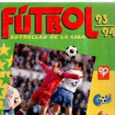 Álbum de fútbol completo: ALBUM COMPLETO FUTBOL PANINI 93-94 ESTRELLAS DE LA LIGA. Lote 81607072