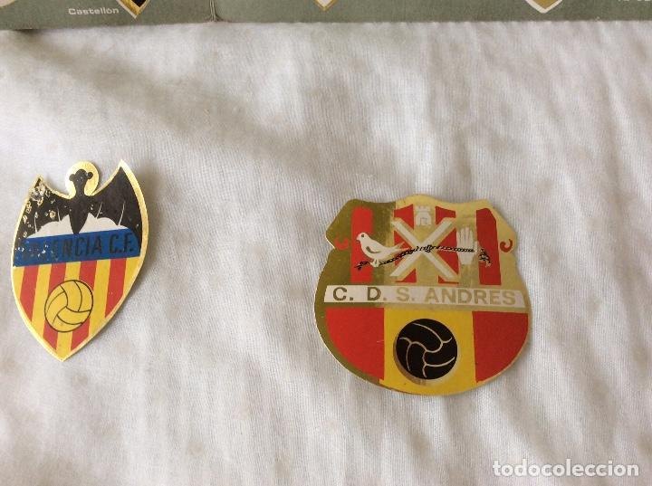 Álbum de fútbol completo: Album escudos de futbol matalizados 1-2 Division año 1972 Completo - Foto 4 - 81716140