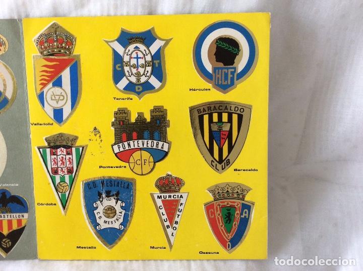 Álbum de fútbol completo: Album escudos de futbol matalizados 1-2 Division año 1972 Completo - Foto 5 - 81716140