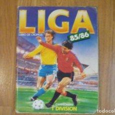 Álbum de fútbol completo: ÁLBUM ESTE 85/86. MUY COMPLETO CON 341 CROMOS CON KALICANIN (UF 7 BIS). Lote 81911720