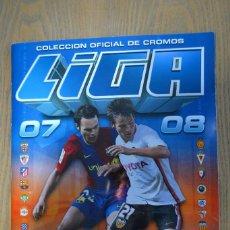 Álbum de fútbol completo: ALBUM ESTE 07 08 2007 2008 COMPLETO. TODOS LOS FICHAJES, COLOCAS.. Lote 82066828
