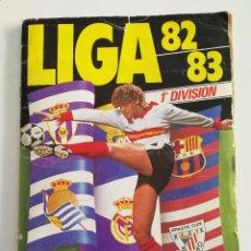 Álbum de fútbol completo: ALBUM FÚTBOL LIGA ESTE 82 83. Lote 82164312