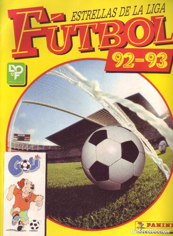 FUTBOL 92-93 - ESTRELLAS DE LA LIGA - PANINI - COMPLETO (Coleccionismo Deportivo - Álbumes y Cromos de Deportes - Álbumes de Fútbol Completos)