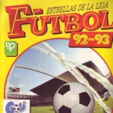 Álbum de fútbol completo: FUTBOL 92-93 - ESTRELLAS DE LA LIGA - PANINI - COMPLETO. Lote 82206596