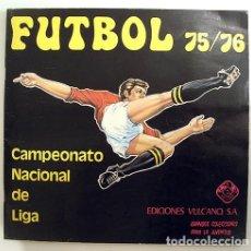 Álbum de fútbol completo: ALBUM 1975 1976 VULCANO COMPLETO. FUTBOL LIGA 75 76 CRUYFF NETZER IRIBAR BIRI BIRI. Lote 82329984