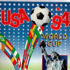 Álbum de fútbol completo: ALBUM MUNDIAL USA 94 PANINI COMPLETO. Lote 82360524