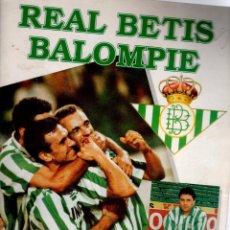 Álbum de fútbol completo: ÁLBUM DE CROMOS DEL REAL BETIS BALOMPIÉ COMPLETO 94 95. Lote 82363848
