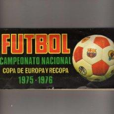 Álbum de fútbol completo: INCREIBLE ALBUM DE LA LIGA 1975-76 DE RUIZ ROMERO,INEDITO CON 4 FICHAJES ORIGINALES. Lote 82510536