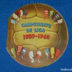 Álbum de fútbol completo: ALBUM CAMPEONATO DE LIGA 1959 - 60 EDT FHER , COMPLETO !!!! EL LOMO CON SEÑALES DE USO. Lote 82547380