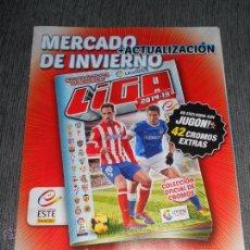 Álbum de fútbol completo: HOJAS AMPLIACION CROMOS FICHAJES MERCADO DE INVIERNO ALBUM LIGA EDICIONES ESTE 2014 2015 14 15. Lote 136403632