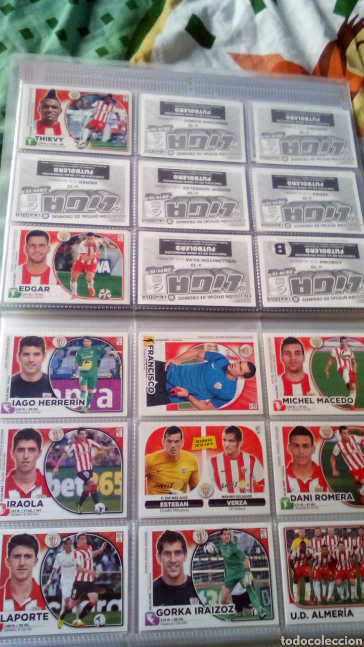 Álbum de fútbol completo: Liga este 2014 2015 14/15 panini coleccion completa sin pegar - Foto 2 - 82638863