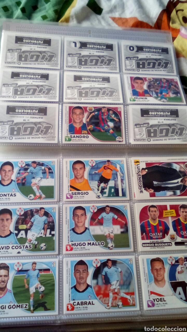 Álbum de fútbol completo: Liga este 2014 2015 14/15 panini coleccion completa sin pegar - Foto 4 - 82638863