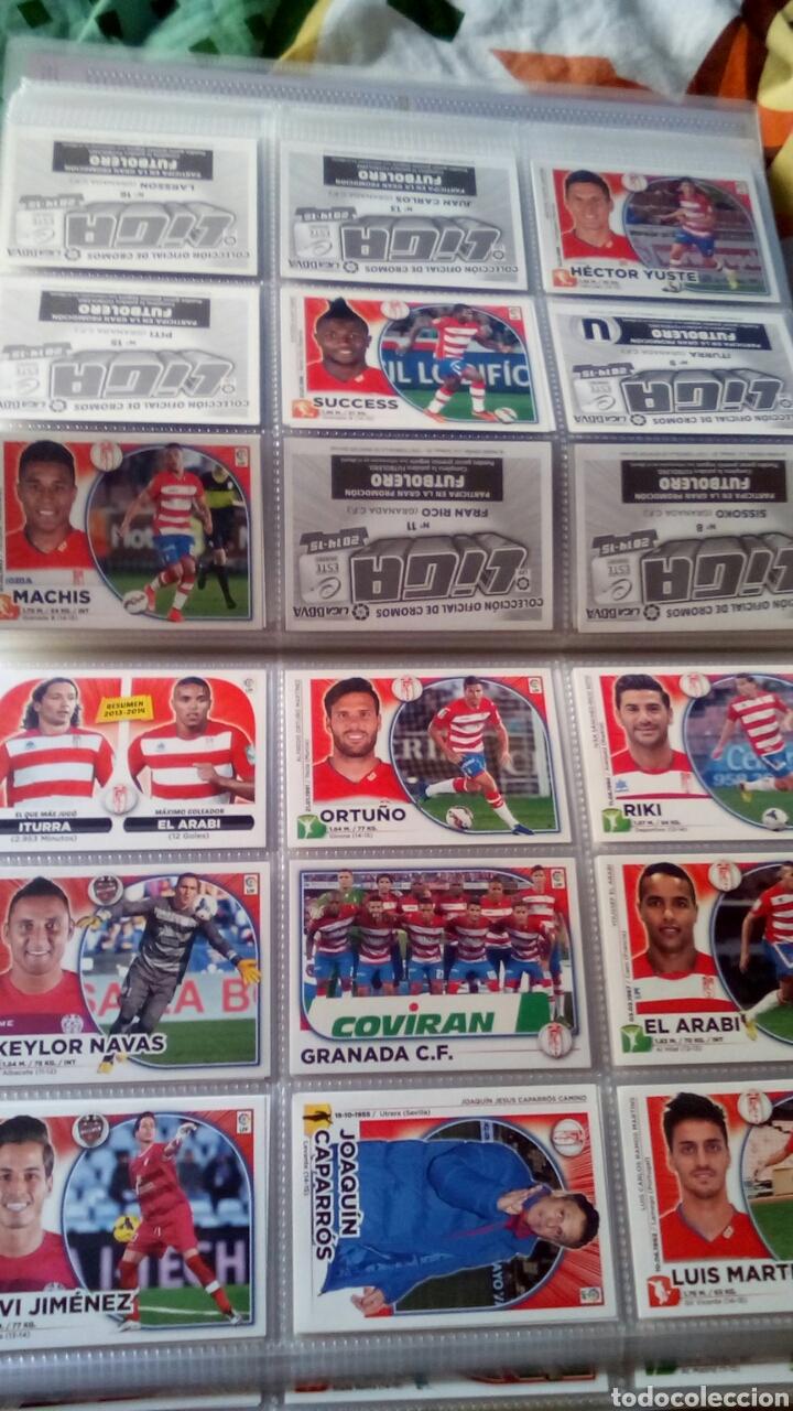 Álbum de fútbol completo: Liga este 2014 2015 14/15 panini coleccion completa sin pegar - Foto 5 - 82638863