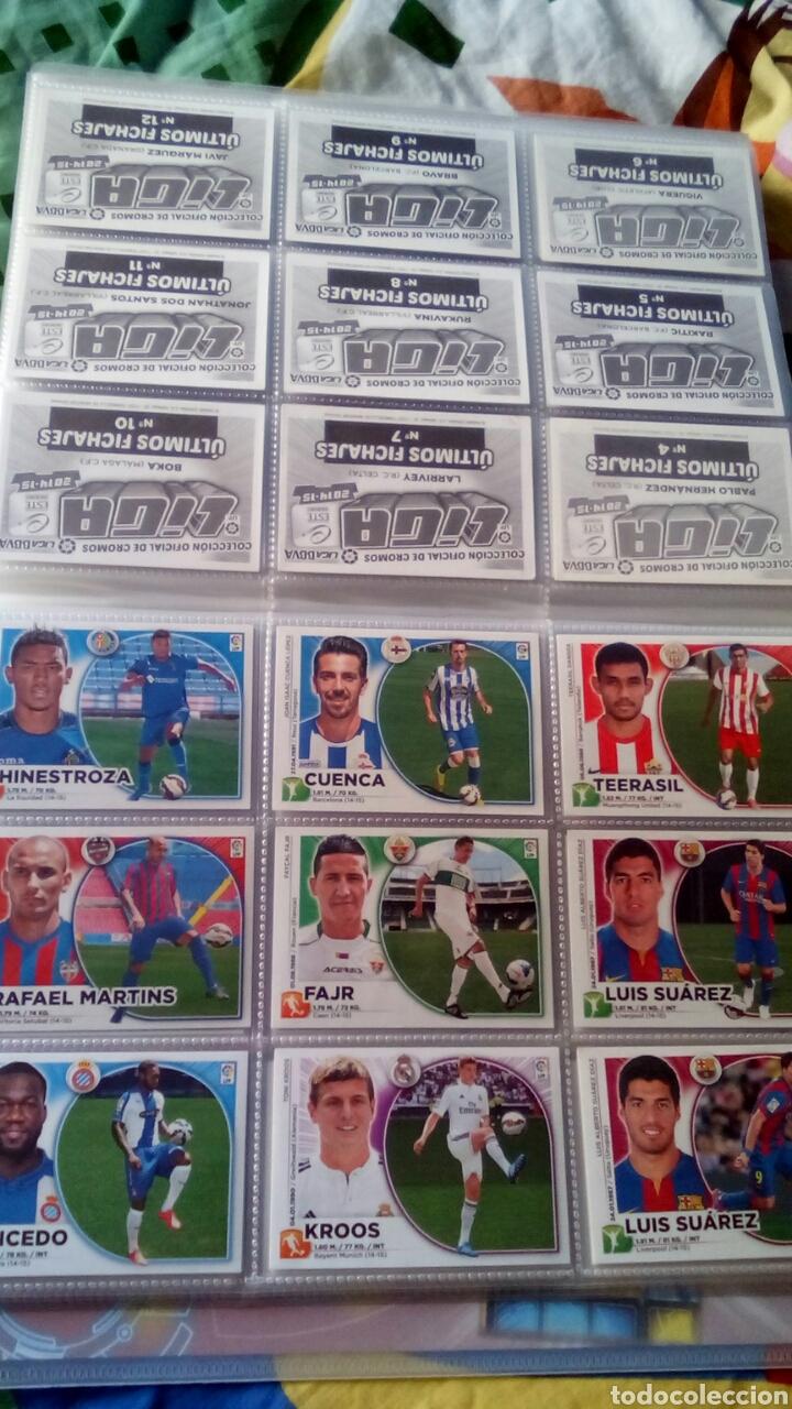 Álbum de fútbol completo: Liga este 2014 2015 14/15 panini coleccion completa sin pegar - Foto 6 - 82638863