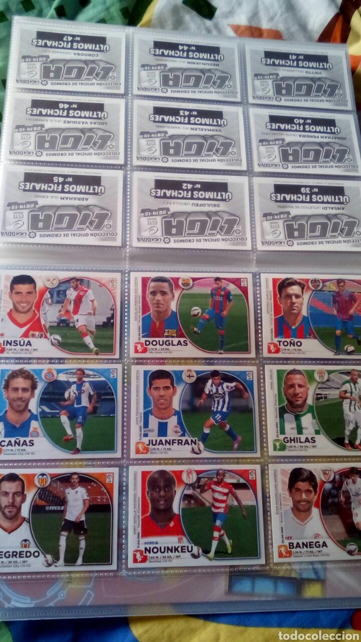 Álbum de fútbol completo: Liga este 2014 2015 14/15 panini coleccion completa sin pegar - Foto 7 - 82638863