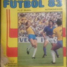 Álbum de fútbol completo: FUTBOL 83 DE PANINI, COMPLETO. Lote 82642792