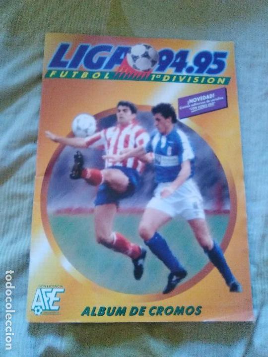ALBUM COMPLETO EDICIONES ESTE 1994-95 LIGA ESTE 94-95 (Coleccionismo Deportivo - Álbumes y Cromos de Deportes - Álbumes de Fútbol Completos)