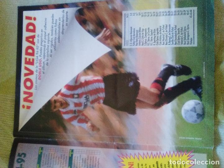 Álbum de fútbol completo: ALBUM COMPLETO EDICIONES ESTE 1994-95 LIGA ESTE 94-95 - Foto 3 - 82645716