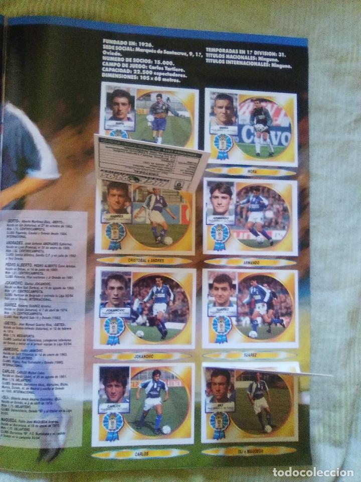 Álbum de fútbol completo: ALBUM COMPLETO EDICIONES ESTE 1994-95 LIGA ESTE 94-95 - Foto 27 - 82645716