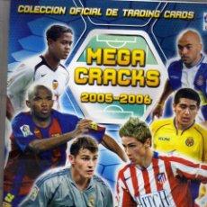 Álbum de fútbol completo: COLECCION COMPLETA DE MEGA CKAKS 2005-06 ,CON FICHERO,TODO LO EDITADO. Lote 82890148
