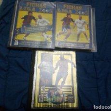 Álbum de fútbol completo: INCREIBLE COLECCION CON TODO LO EDITADO DE LAS FICHAS DE LA LIGA 2005 DE MUNDICROMO,CON TOP 2005. Lote 82917912