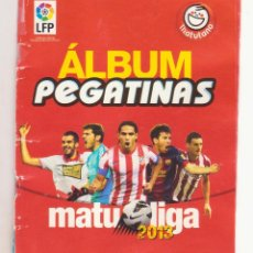 Álbum de fútbol completo: ALBUM MATULIGA COMPLETO. Lote 82932324