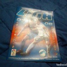 Álbum de fútbol completo: ALBUM COMPLETO DE LA LIGA 2007-08 DE ESTE ,IMPECABLE ESTADO. Lote 83266988