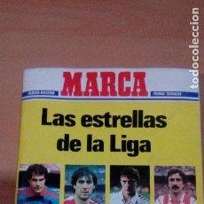 Álbum de fútbol completo: MARCA 86 87 - LAS ESTRELLAS DE LA LIGA - COMPLETO Y EN PERFECTO ESTADO. Lote 83274228