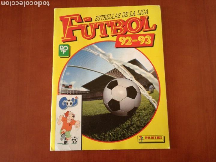 PANINI ESTRELLAS DE LA LIGA DE FUTBOL 92-93 COMPLETA (Coleccionismo Deportivo - Álbumes y Cromos de Deportes - Álbumes de Fútbol Completos)