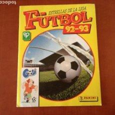 Álbum de fútbol completo: PANINI ESTRELLAS DE LA LIGA DE FUTBOL 92-93 COMPLETA. Lote 83629854