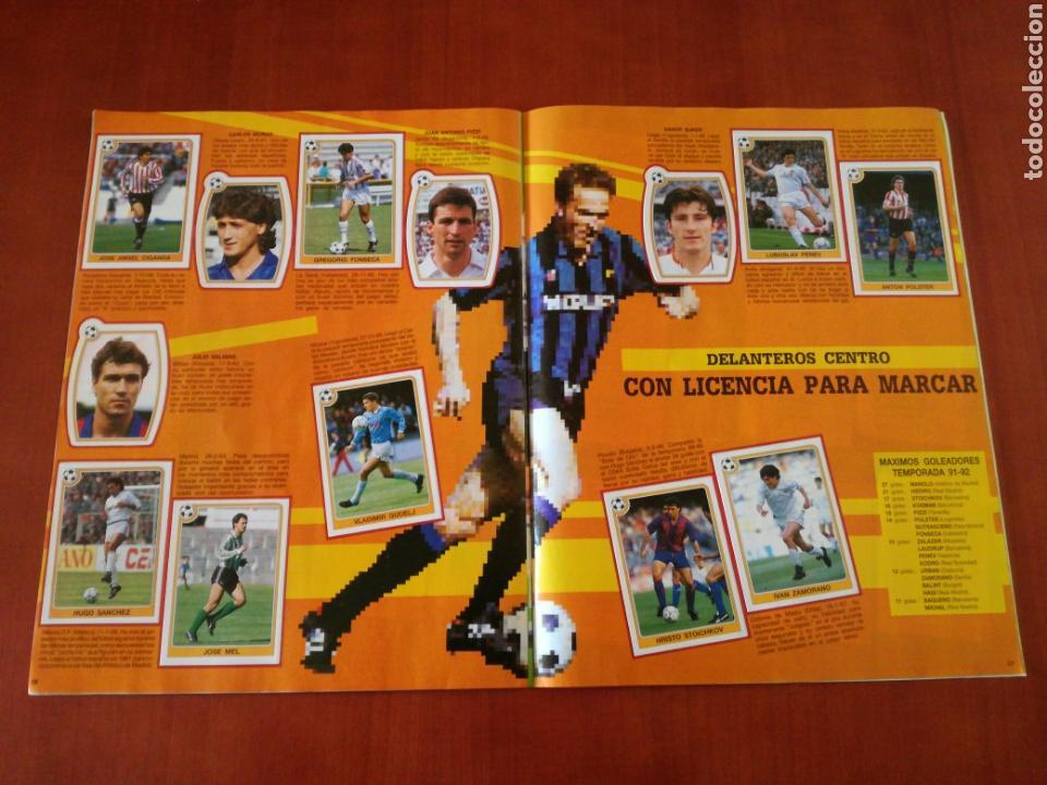 Álbum de fútbol completo: PANINI ESTRELLAS DE LA LIGA DE FUTBOL 92-93 COMPLETA - Foto 15 - 83629854