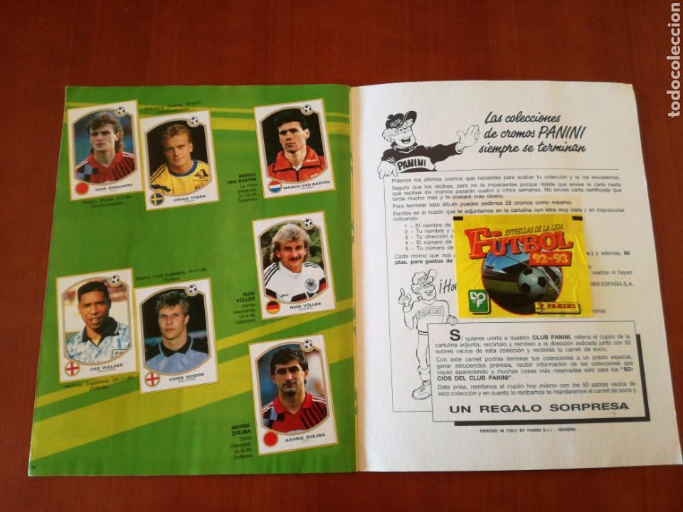 Álbum de fútbol completo: PANINI ESTRELLAS DE LA LIGA DE FUTBOL 92-93 COMPLETA - Foto 18 - 83629854
