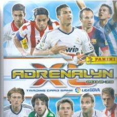 Álbum de fútbol completo: ALBUM CROMOS FUTBOL ADRENALYN 2012-2013. LIGA BBVA 12-13 DE PANINI (COLECCION COMPLETA) + 8 CARDS. Lote 83932168