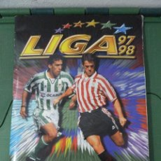 Album de football complet: ALBUM LIGA 97 - 98 - COLECCIONES ESTE - COMPLETO. Lote 83965192