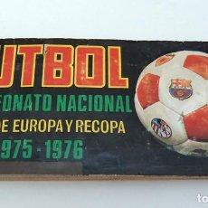 Álbum de fútbol completo: ALBUM 1975 1976 FUTBOL COPA EUROPA RECOPA 75 76 CAMPEONATO NACIONAL LIGA RUIZ ROMERO. Lote 84071452