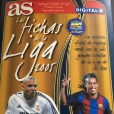 Álbum de fútbol completo: ÁLBUM AS 2005-LAS FICHAS DE LA LIGA- COMPLETO. Lote 84604116