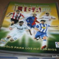 Álbum de fútbol completo: ÁLBUM LAS FICHAS DE LA LIGA 2010 MUNDICROMO (COMPLETO CON TODO LO EDITADO). Lote 194619582