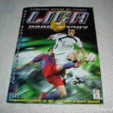 Álbum de fútbol completo: EDICIONES ESTE. LIGA 06-07 ALBUM COMPLETO, TODO LO EDITADO (545 CROMOS) - 2006-2007. Lote 84982600