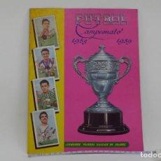 Álbum de fútbol completo: BUSCADO ALBUM FÚTBOL CAMPEONATO 1958 1959 COMPLETO CABEZONES GRÁFICAS NILO EXCELSIOR COLECCIÓN. Lote 84985232