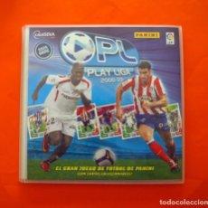 Álbum de fútbol completo: ÁLBUM, FICHERO PLAY LIGA 2008-2009, 08-09 - COMPLETO - EL GRAN JUEGO DE FÚTBOL DE PANINI. Lote 85247676