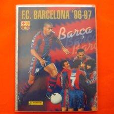 Álbum de fútbol completo: ÁLBUM, FICHERO F.C. BARCELONA 1996-1997, 96-97 - BARÇA PANINI - COMPLETO - VER FOTOS EN EL INTERIOR. Lote 85248308