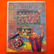 Álbum de fútbol completo: ÁLBUM, FICHERO BARCELONA, DEL DREAM TEAM BARÇA 90-96 - PANINI - COMPLETO - VER FOTOS EN EL INTERIOR. Lote 85248912