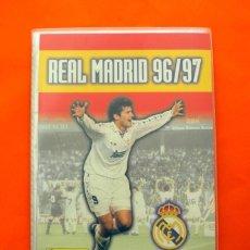 Álbum de fútbol completo: ÁLBUM, FICHERO REAL MADRID 1996-1997, 96-97 - PANINI - COMPLETO - VER FOTOS EN EL INTERIOR. Lote 85249416