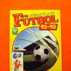 Álbum de fútbol completo: ÁLBUM COMPLETO - FÚTBOL ESTRELLAS DE LA LIGA 1992-1993, 92-93 - PANINI - VER FOTOS EN EL INTERIOR. Lote 85251396