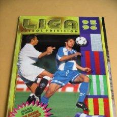 Álbum de fútbol completo: ÁLBUM DE FUTBOL LIGA 95-96, ED. ESTE, COMPLETO 515 CROMOS.. Lote 85345512