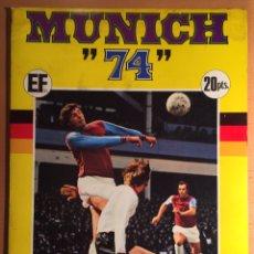 Álbum de fútbol completo: ALBUM CROMOS MUNICH 74. X CAMPEONATOS MUNDIALES DE FUTBOL. COMPLETO. Lote 85516211