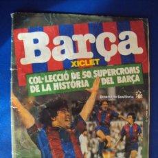 Álbum de fútbol completo: (AL-170501)BARÇA XICLET COMPLETO 1983. MUY RARO NUNCA HA SALIDO COMPLETO EN TODOCOLECCION,. Lote 85602000