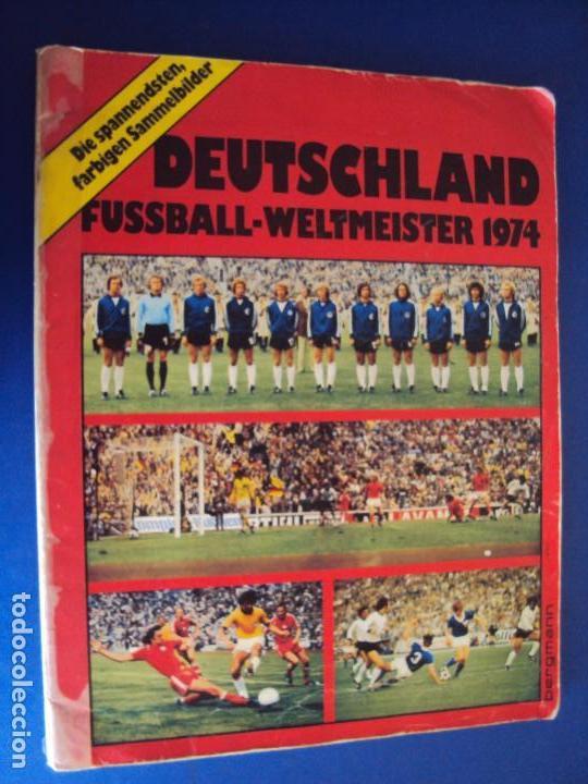 Al 170532 Album Cromos Deutschland Fussball Weltmeister 1974 Completo