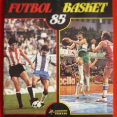 Álbum de fútbol completo: ALBUM VACIO FUTBOL BASKET 85 PANINI. Lote 86069584