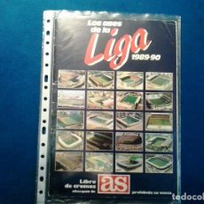 Álbum de fútbol completo: ÁLBUM LOS ASES DE LA LIGA DE FUTBOL 89/90. COMPLETO. Lote 86163280